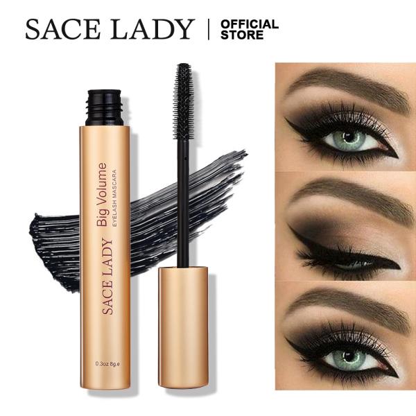 Mascara SACE LADY màu đen không thấm nước giúp mi dày và cong hơn - INTL giá rẻ