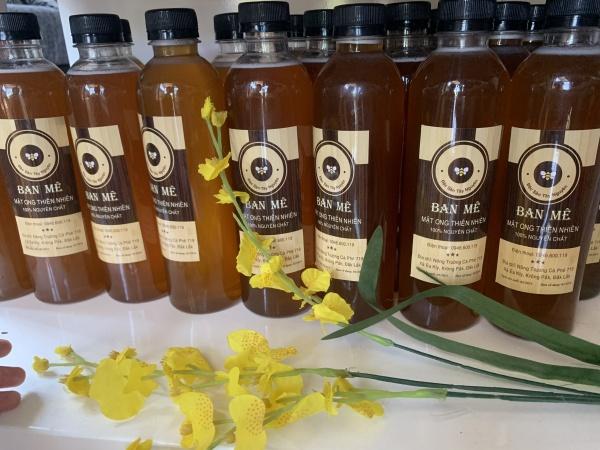 1 lít mật ong DakLak cam kết nguyên chất 100% mật ong thật nhiều công dụng làm đẹp