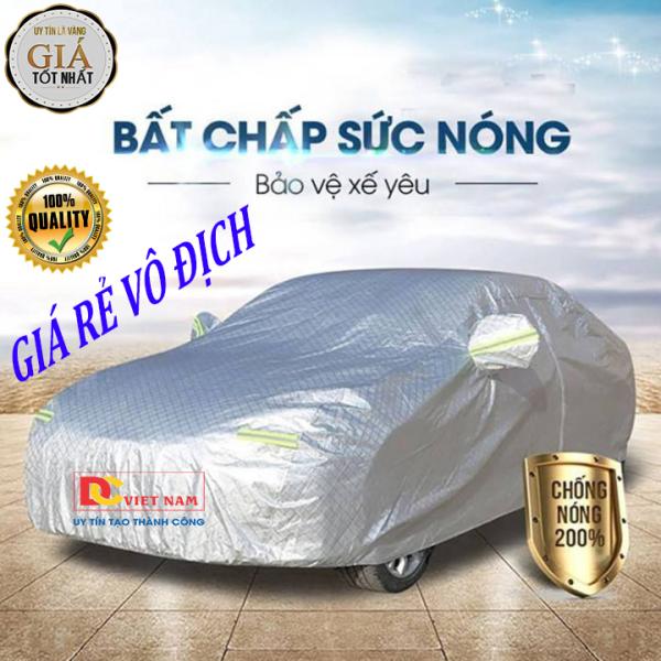 Bạt phủ xe hơi, ô tô tráng nhôm cao cấp cho xe 4,5,7, bán tải dành cho các hãng xe: Toyota-Hyundai-Ford-Mazda-Kia-Honda-Mitsubishi-Nissan-Audi-BMW-Vinfast,...