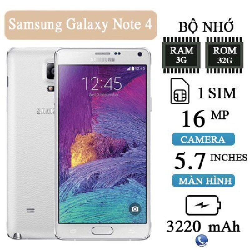 Điện Thoại Sam Sung Galaxy Not 4 Ram 3G/32G Nguyên Zin Chính hãng, chiến Game siêu mượt