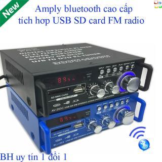 Âm Ly Hàn Quốc 506.Ampli Bluetooth Tely-Blj253 Cao Cấp Đa Năng (Giá Off-50%) Là Top 10 Amply Gây Bão Với Bluetooth Kết Nối 4.0 Cho Công Xuất Cực Lớn.Bh 12T Đổi Mới Mã 983 thumbnail