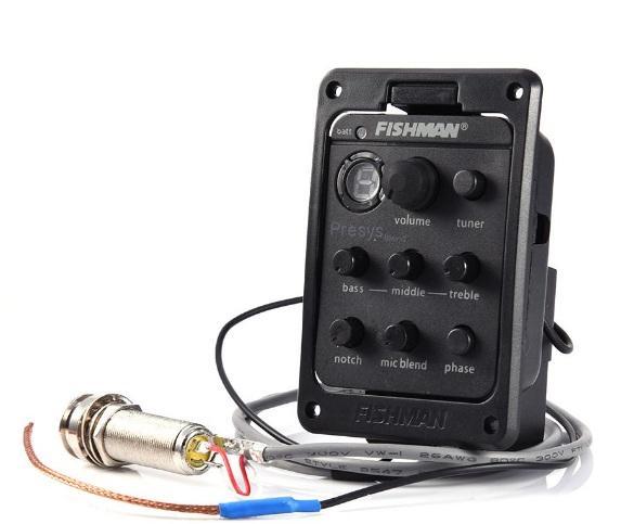 Bộ máy chỉnh EQ chuyên dụng FISHMAN Presys 301 cho đàn ghita và phụ kiện