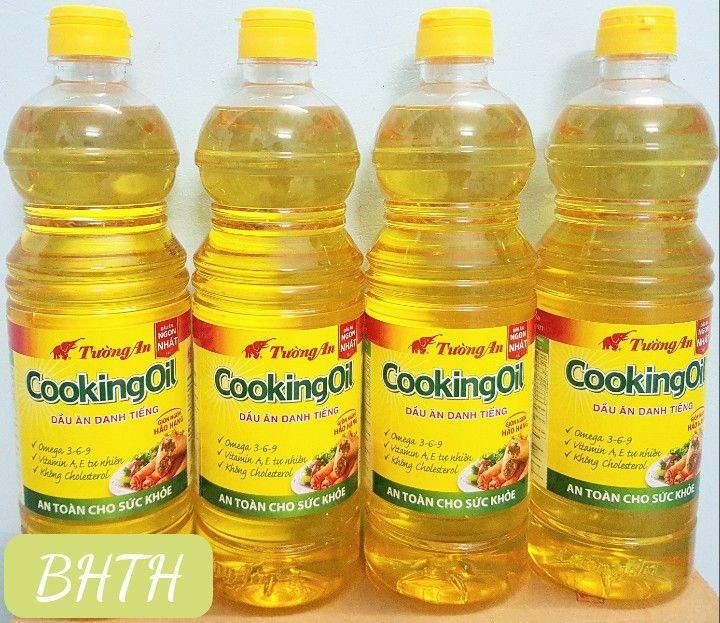 Dầu ăn Tường An 1l - dầu ăn cooking oil 1lít