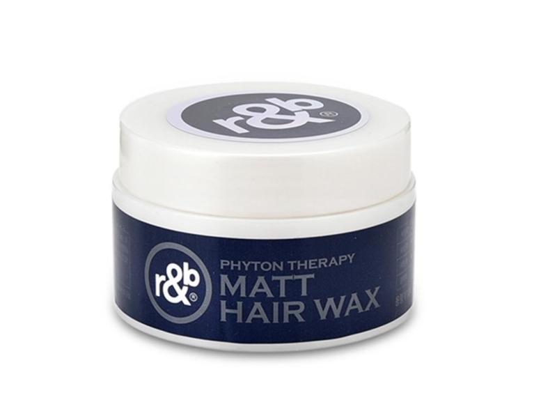 Keo vuốt tóc thảo dược thiên nhiên tạo kiểu tự nhiên không rối tóc mềm dày giữ kiểu lâu R&B Matt Hair Wax, Hàn Quốc 110g giá rẻ
