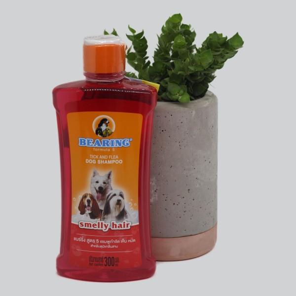 Sữa tắm Bearing trị ve bọ chét cho chó Lông Có Mùi Hôi 300ml
