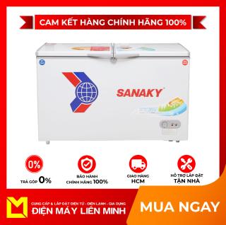 Tủ đông Sanaky VH-2599W1 250 lít -Dàn lạnh ống đồng (Làm lạnh cực nhanh) Hai ngăn đông mát (Tiện ích) Gas R600A (Thân thiện môi trường)-GIAO HÀNG MIỄN PHÍ HCM thumbnail
