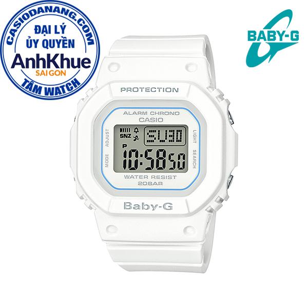 Đồng hồ nữ dây nhựa Casio Baby-G chính hãng Anh Khuê BGD-560-7DR (40mm)