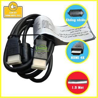 Dây cáp HDMI chống nhiễu Sliverton chuẩn 2.0 hỗ trợ 3D 4K Ultra HD Ethernet dài 1,5M [Ken Shop] thumbnail