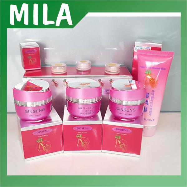 [SIÊU SALE] Bộ mỹ phẩm Ginseng nhân sâm, chuyên làm mờ nám, tàn nhang và dưỡng trắng da, kem nám Hàn Quốc, mỹ phẩm Ginseng. giá rẻ