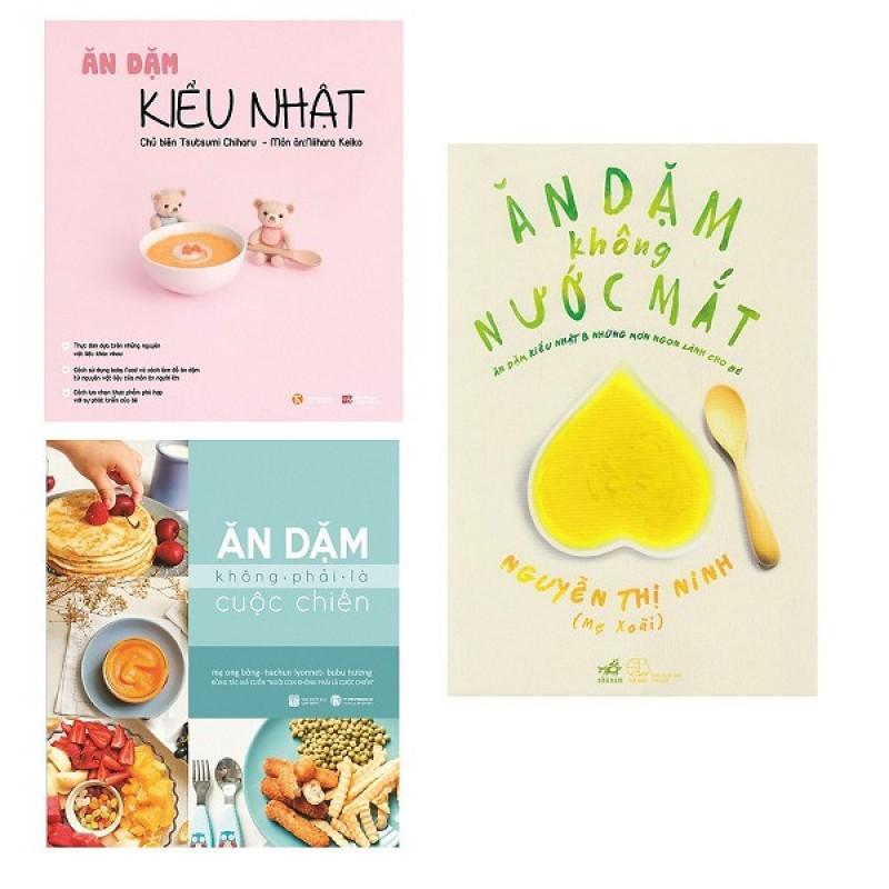 Sách Combo Ăn Dặm Kiểu Nhật ( Trọn bộ 3 cuốn)