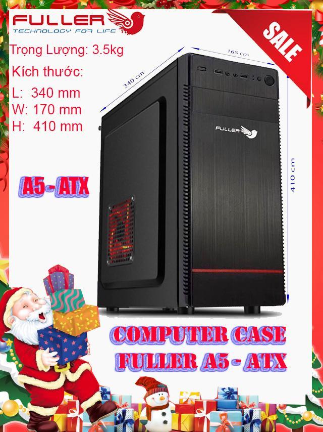 Giá Vỏ máy tính (Case) văn phòng Fuller A5 ATX - Fuller Store - vỏ case máy tính đẹp,vỏ case máy tính giá rẻ