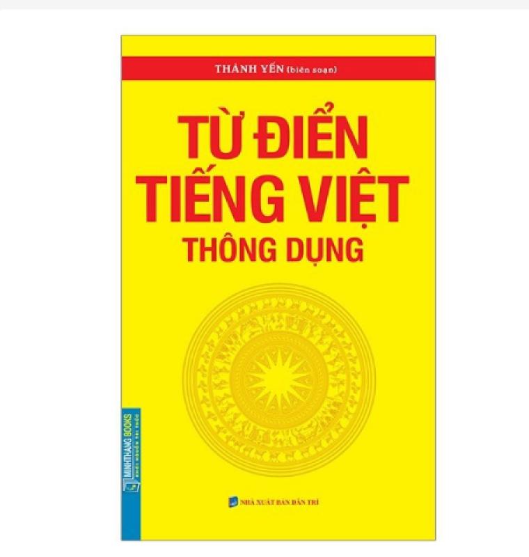 Sách - Từ điển tiếng Việt thông dụng (bìa mềm)-tái bản
