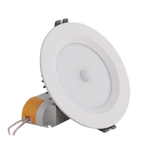 Đèn LED Âm trần Downlight Cảm biến AT04 7W PIR