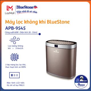 Máy Lọc Không Khí BlueStone APB-9545 - 3 lớp màng lọc ( lọc thô, màng lọc kết hợt HEPA và than hoạt tính ) - Công suất 60W - Phù hợp không gian 35m2- Bảo hành 24 tháng-Hàng chính hãng thumbnail