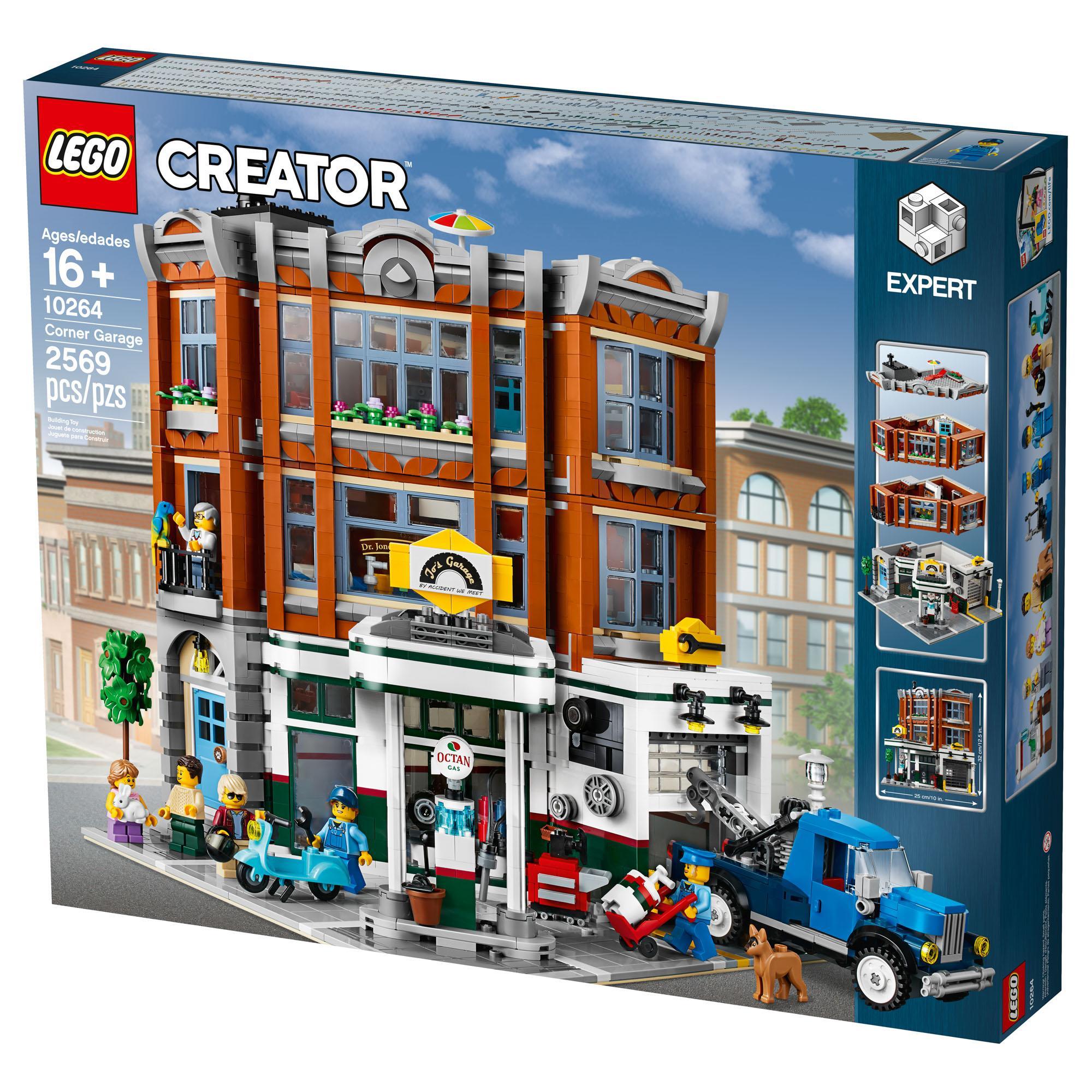 Giá Tiết Kiệm Khi Sở Hữu Lego 10264 Corner Garage
