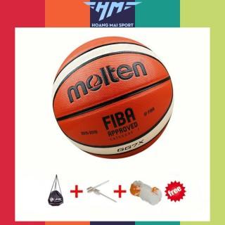 Bóng rổ Molten FIBA GG7X size 7 da PU chơi indoor, outdoor TẶNG kim bơm + túi lưới, banh đẹp -MoltenGG7X thumbnail