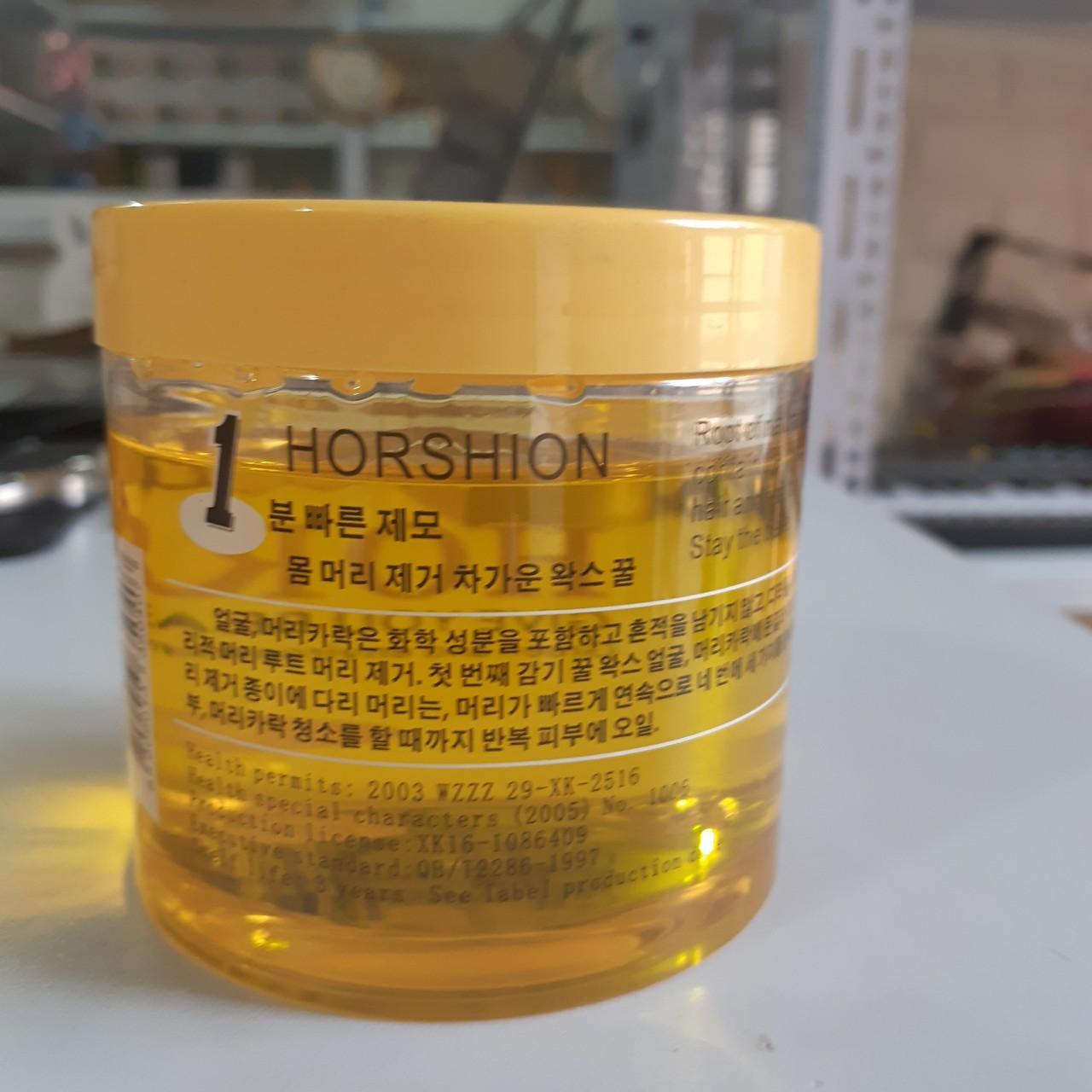 Gel Wax lông Horshion 750ml tặng kèm giấy wax cao cấp