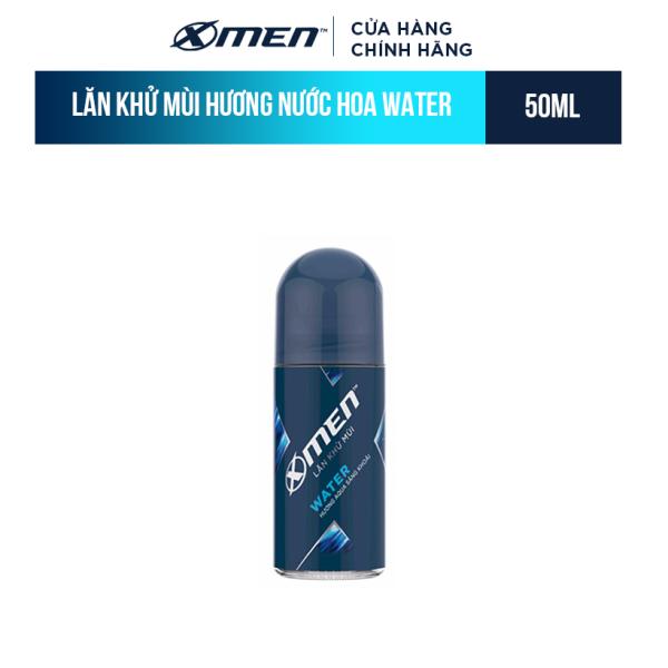 Lăn khử mùi X-men Water - Mat lạnh 50ml cao cấp