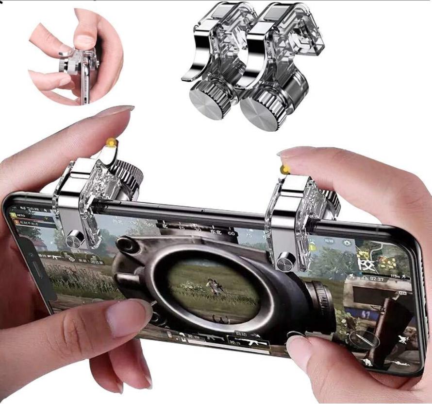 Bộ 2 Nút Bấm Chơi Game Thế Hệ Mới R11 Cho Smartphone – Nút Bấm Cơ R11 Chốt Vặn Trên Điện Thoại – Hỗ Trợ Tất Cả Các Tựa Game- Game Pubg Mobile, Ros, Cross Fire, Free Fire,.. -Thế Giới Sỉ Lẻ 3