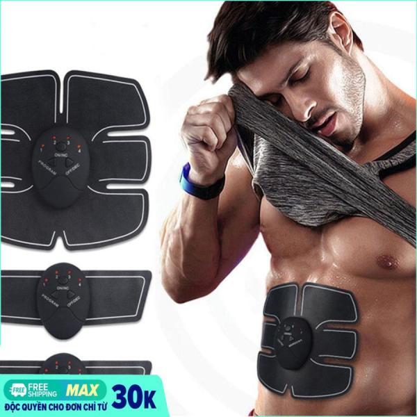 Miếng dán xung điện tập Gym Beauty Body, Máy đánh tan mỡ bụng tốt, May matxa rung, Máy massage giá rẻ 6 múi, may massage thông minh