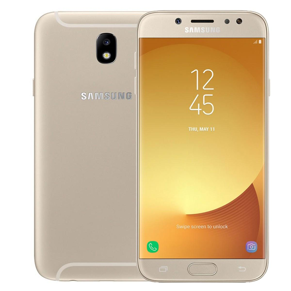 Điện Thoại Samsung Galaxy J7 Pro (Vàng) - Hàng Chính Hãng