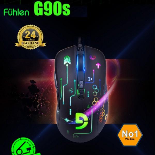 Bảng giá CHUỘT GAME FUHLEN G90S CỰC CHẤT, BẢO HÀNH 2 NĂM Phong Vũ