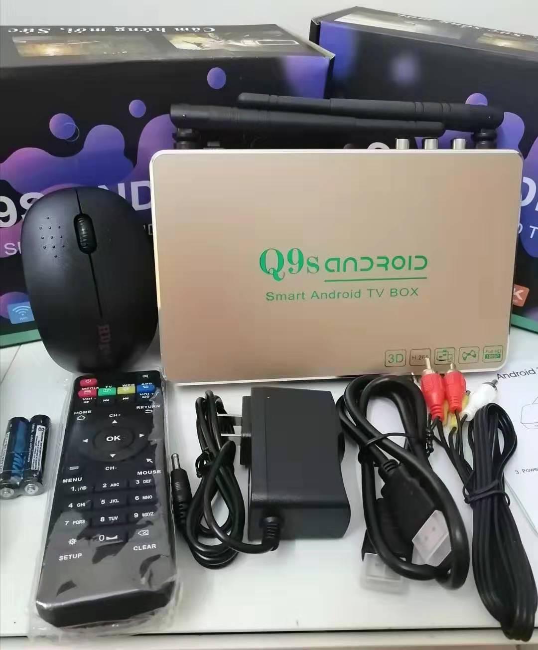 Android Box Q9s Ram 1GB Biến TV Thành Smart TV -TẶNG CHUỘT QUANG KHÔNG DÂY Khuyến Mãi Sốc