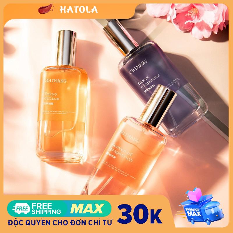 HATOLA - Xịt thơm toàn thân nước hoa BODY MIST SHIMANG mùi hương quyến rũ, sang trọng và đầy lôi cuốn 50ml xt-1