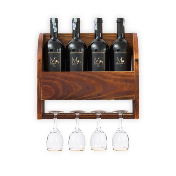 Kệ Rượu Treo Tường KR01