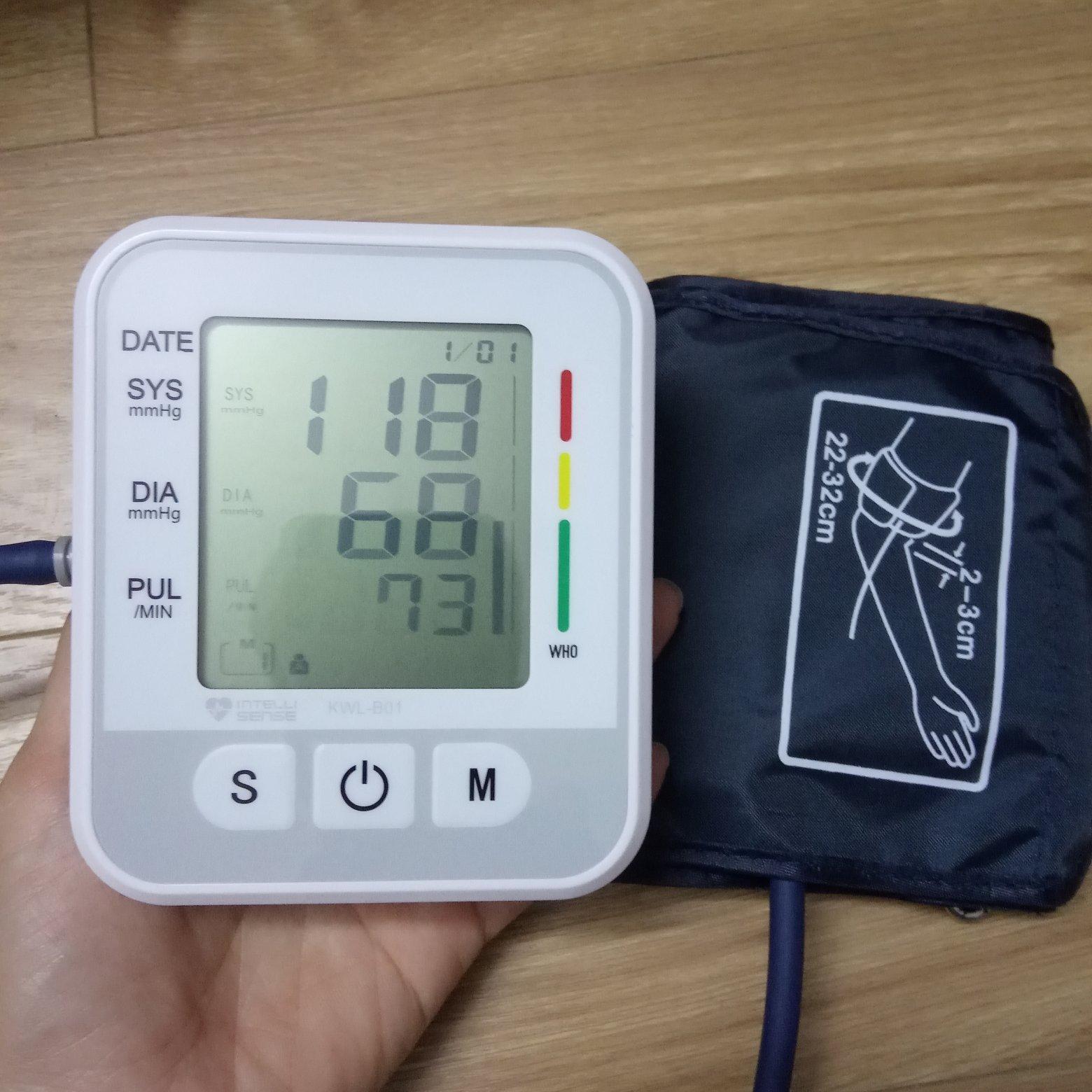 Máy đo huyết áp bắp tay Electronic Intellisense công nghệ Nhật Bản - Phát hiện rối loạn nhịp tim bán chạy