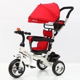 Xe đẩy 3 bánh dành cho trẻ từ 1 đến 6 tuổi Xe đạp có ô che nắng dành cho trẻ nhỏ thumbnail