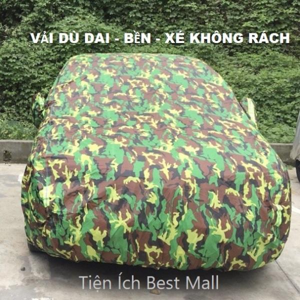 Bạt phủ xe hơi , bat phu xe o to 4 chỗ, bat trum xe vải dù Polyester Oxford Fabric một lớp cao cấp cho ôtô 4 chỗ đến 7 chỗ gấp xếp gọn gàng, bat phu xe 7 cho, bat phu xe 4 cho,che nắng,lớp bạc phản quang chống nóng 1 lớp BPXM
