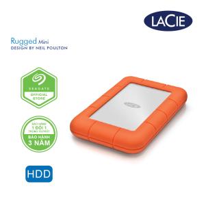 [Trả góp 0%]Ổ Cứng Di Động Chống Sốc Lacie Rugged Mini USB 3.0 thumbnail