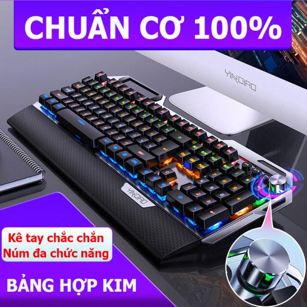 Bảng giá [CÓ VIDEO TEST] Bàn phím cơ Gaming K100 full LED  kết nối USB 2.0, nhấn 26 phím đồng thời, phím cơ học, tùy chỉnh chiếu sáng theo phím Phong Vũ