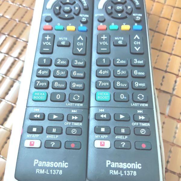 Bảng giá Remote điều khiển tivi Panasonic RM-L1378