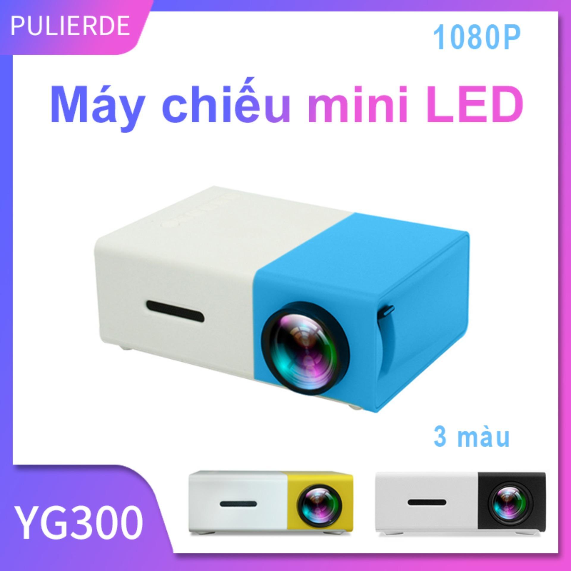 [Hot Sale][Máy chiếu đa phương tiện] Sản phẩm Máy chiếu LED YG300 600 lumen mini cho điện thoại laptop hỗ trợ độ phân giải 320x240 Pixels máy chiếu cho gia đình