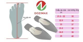 dép sục - dep nu - siêu sang chảnh -mix đồ cực bánh bèo - SẴN 3 MÀU HÀNG LOẠI MOT - DOZIMAX 6