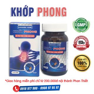 KHỚP PHONG - Hỗ trợ tăng cường dịch khớp, làm trơn ổ khớp, giúp khớp linh hoạt, nuôi dưỡng xương khớp chắc khỏe, giảm nguy cơ thoái hóa khớp thumbnail