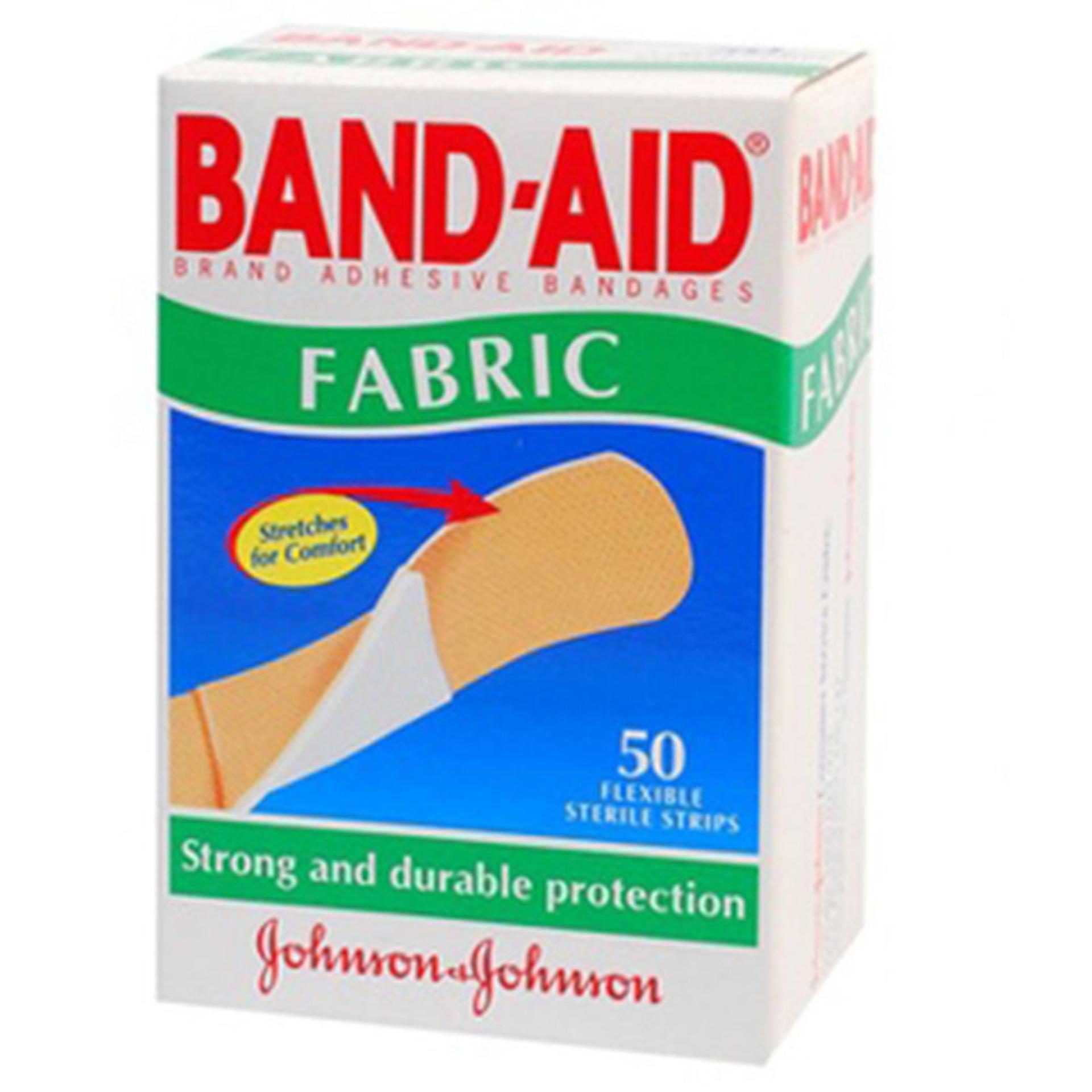 Băng dán cá nhân Band-aid fabric 50 băng