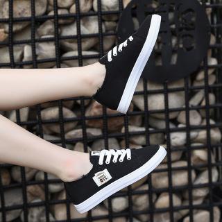 Giày thể thao nữ dây buộc dáng cơ bản chất vải đẹp êm chân 110 thumbnail