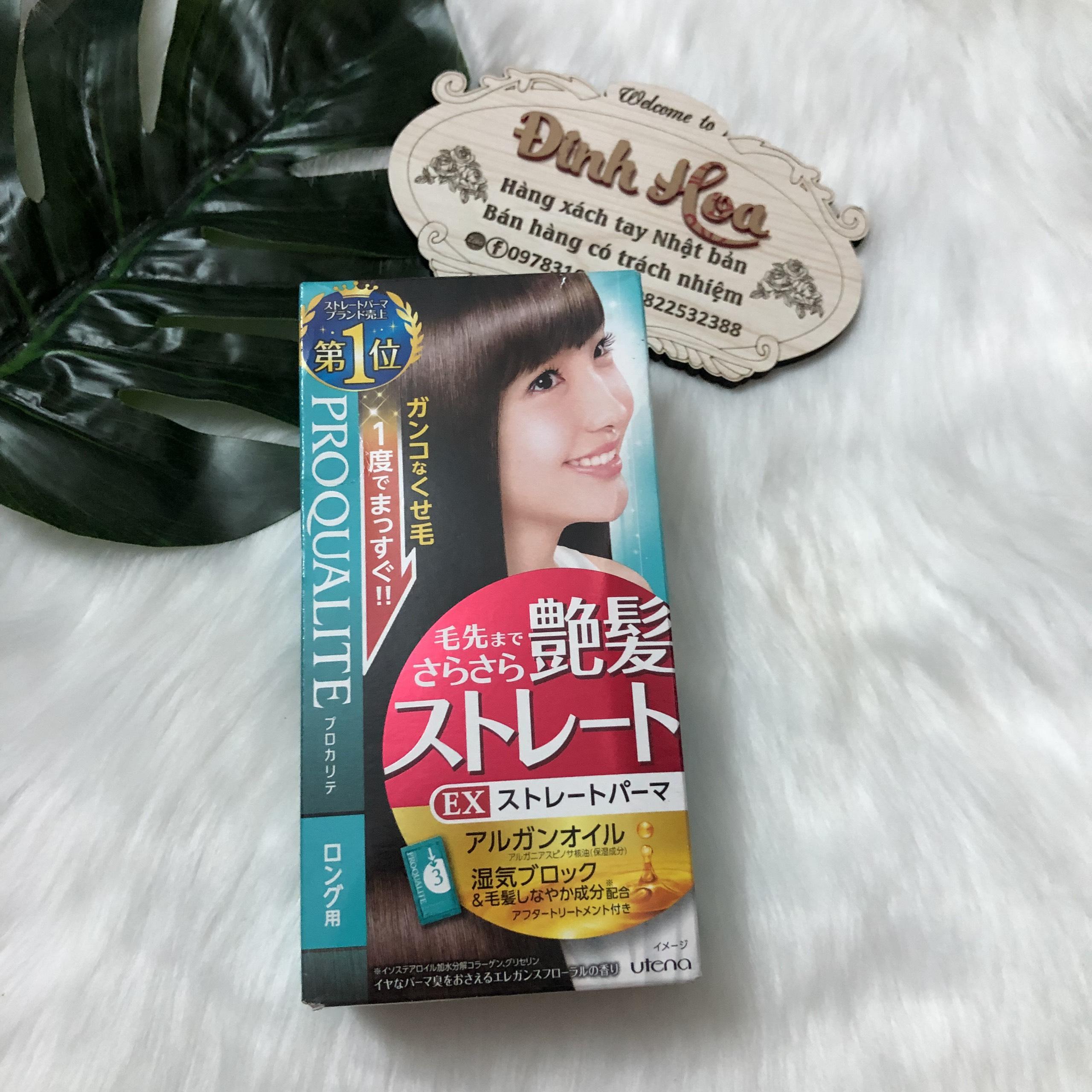 Duỗi tóc Utena dành cho tóc dài