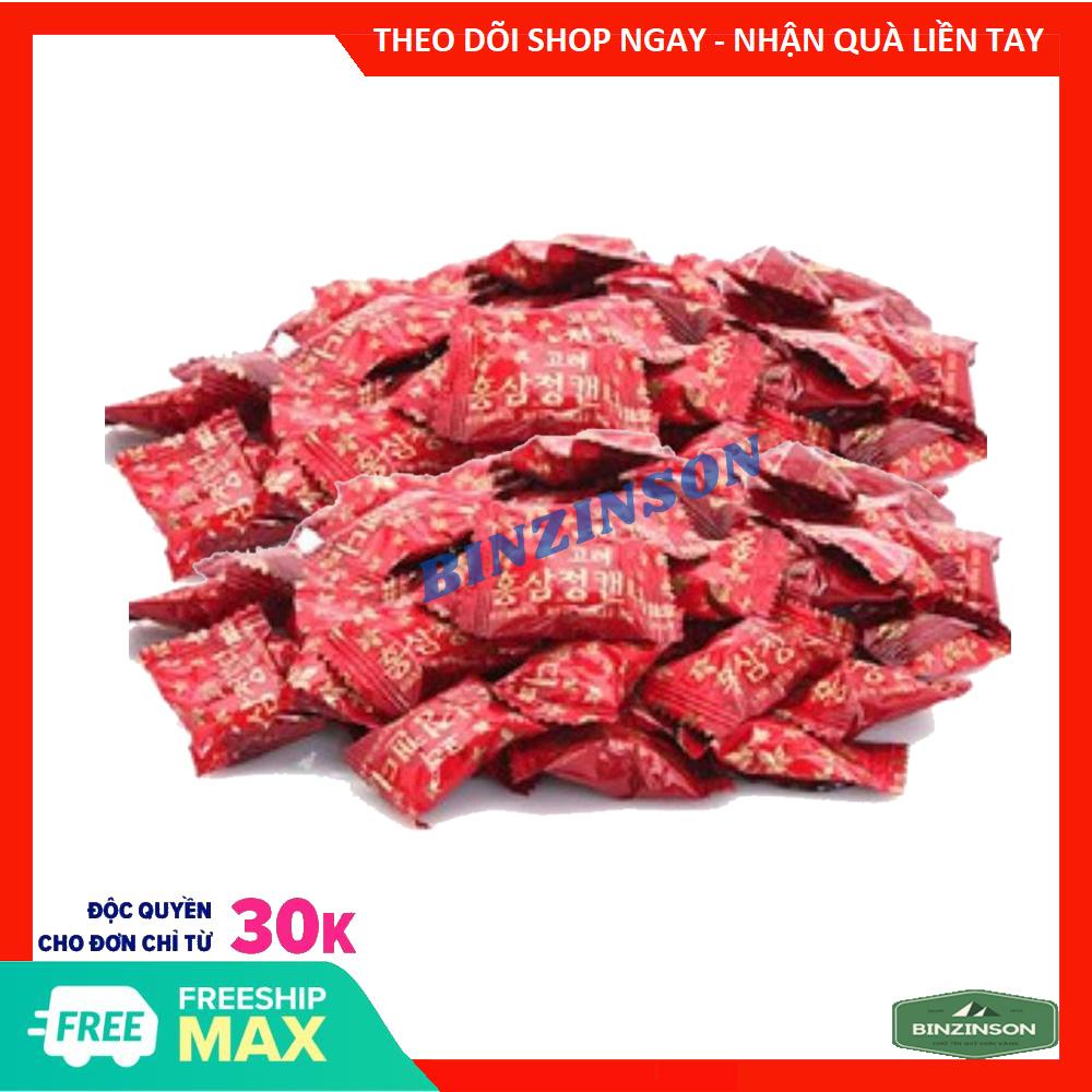[HCM]Kẹo Hồng Sâm KGS Hàn Quốc [ COMBO 20 VIÊN ] Loại Thơm Ngon chiếc từ gói 300g - BINZINSON