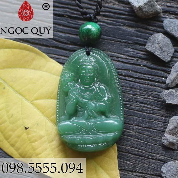 Phật đại thế chí đá ngọc tủy xanh