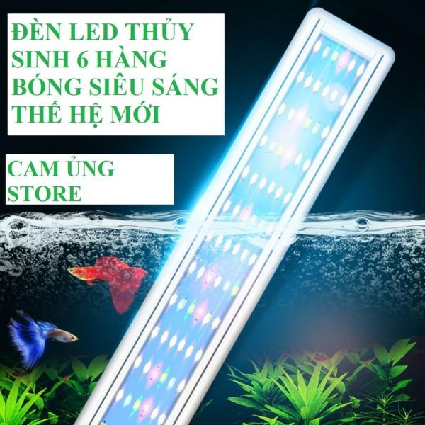 Đèn Led Siêu Sáng Wrgb Thế Hệ Mới 6 Hàng Bóng Chuyên Dụng Cho Bể Cá Cảnh Thủy Sinh- Đèn Led Bể Cá Giá Tốt