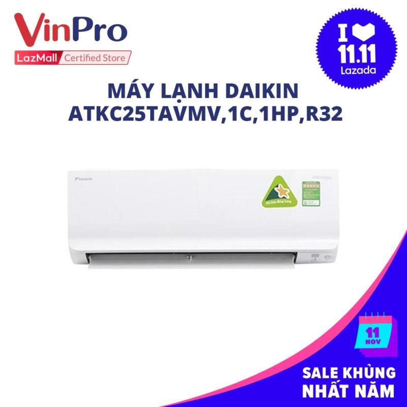 Bảng giá Máy lạnh Daikin ATKC25TAVMV,1C,1HP,R32