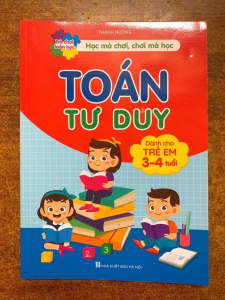 Sách - Toán tu duy - dành cho trẻ 3-4 tuổi