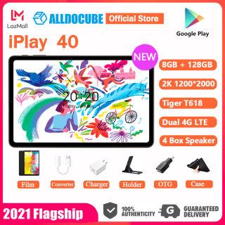 Máy tính bảng Alldocube iPlay 40 8GB RAM 128GB ROM Unisoc Tiger T618 Bộ xử lý 2000x1200 FHD Màn hình 10.4 inch Dual 4G LTE Android 10 Thiết kế giao diện người dùng IU