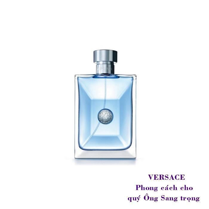 Nước hoa [Mini] nam Versace Pour Homme 5ml - Eau De Toilette