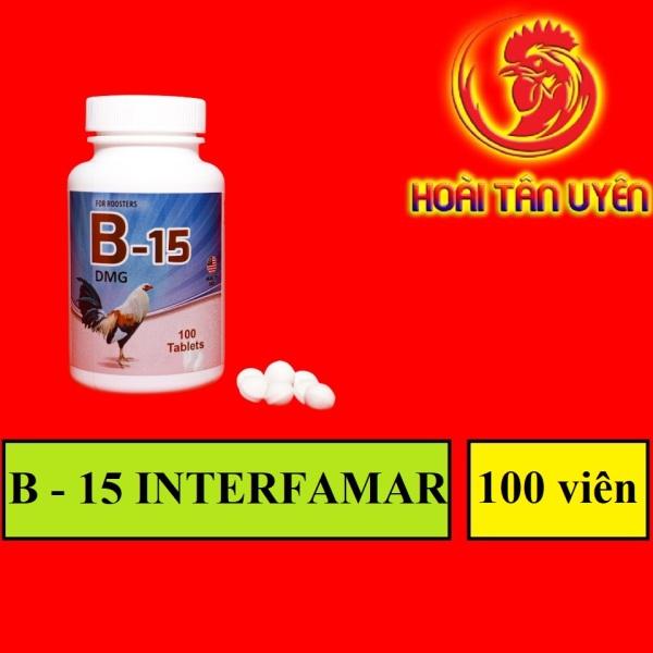 B15 cho gà đá đủ pin cấp tốc HỘP 100 VIÊN