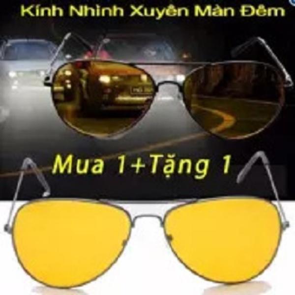 Giá bán Bộ đôi kính mắt vàng nhìn xuyên đêm PA102 ( 2 cái )